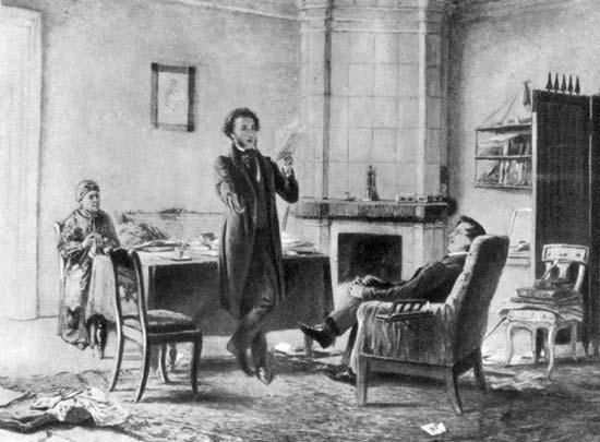 Источник иллюстрации пушкин а с