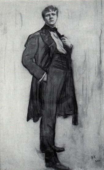 В а портретная живопись в а серова 1900