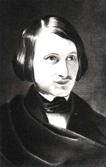 Гоголь н в портрет работы ф а моллера