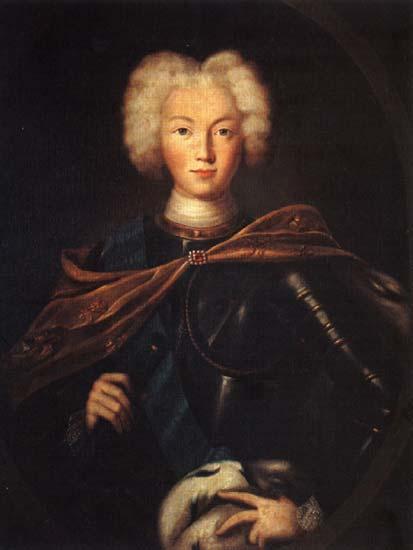 Петр II (император) Петр II Алексеевич Русская портретная галерея