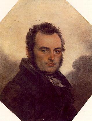 Глинка Сергей Николаевич (В.П. Лангер, ок. 1820) | Глинка Сергей Николаевич | Русская портретная галерея