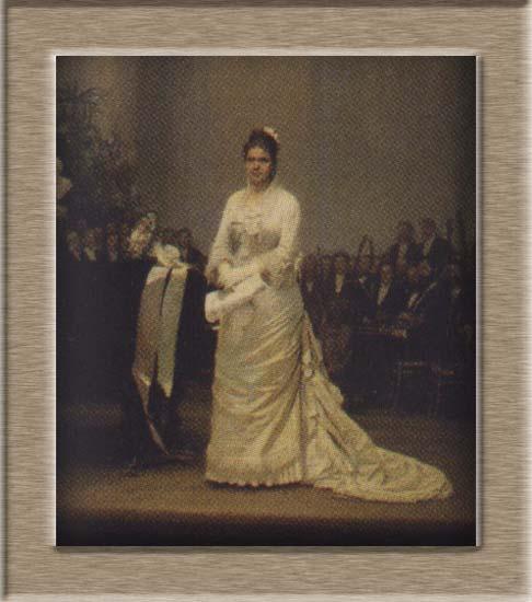 Лавровская Е.А. (певица на эстраде в Дворянском собрании, 1879 ...